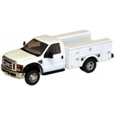 535-5725.01 - River Point Station Ford F-450 XL Short Cab Service/Utility Truck - DRW HD - White/Chrome Trim