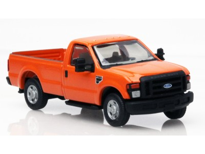 536-5057.09 - HO Scale River Point Station Ford F-250 XL Regular Cab - Orange