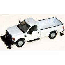 538-5058.01 - HO Scale River Point Station Ford F-350 XL Regular Cab, White, Hi-Rail