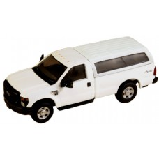 536-5097.01 - River Point Station Ford F-350 XL Regular Cab - White w/Type 1 Contour Cap, Matching White Paint