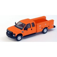 536-5221.09 - River Point Station Ford F-350 XLT Super Cab Service/Utility Truck - Orange