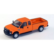536-5257.09 - HO Scale River Point Station Ford F-250 XLT Super Cab -  Orange