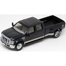 536-5455.32 - HO Scale River Point Station Ford F-450 XLT Sport Crew Cab Dually - Metallic Blue/Gold