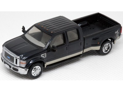 536-5455.32 - River Point Station Ford F-450 XLT Sport Crew Cab Dually - Metallic Blue/Gold