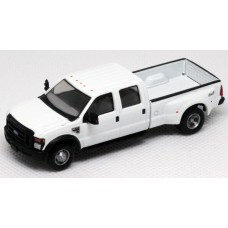 536-5555.01 - HO Scale River Point Station Ford F-350 XLT 4X4 Crew Cab Dually - White