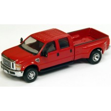 536-5555.10 - HO Scale River Point Station Ford F-350 XLT Sport Crew Cab Dually - Red