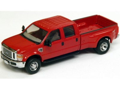 536-5555.10 - River Point Station Ford F-350 XLT Crew Cab Dually - Red