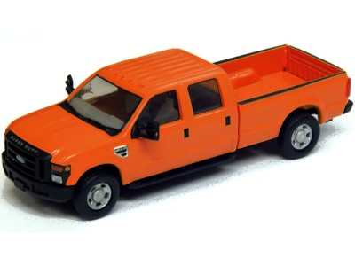 536-5657.09 - River Point Station Ford F-350 XLT Crew Cab - Orange