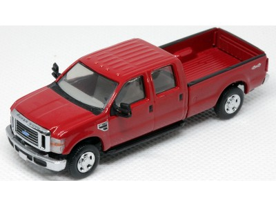 536-5657.10 - River Point Station Ford F-350 XLT Sport Crew Cab - Red/Chrome Trim