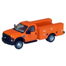 536-5725.09 - River Point Station Ford F-450 XL Short Cab Service/Utility Truck - DRW HD - Orange