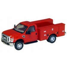 536-5725.10 - River Point Station Ford F-450 XL Short Cab Service/Utility Truck - DRW HD - Red