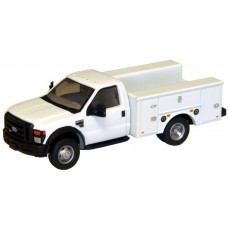 536-5725.01 - River Point Station Ford F-450 XL Short Cab Service/Utility Truck - DRW HD - White