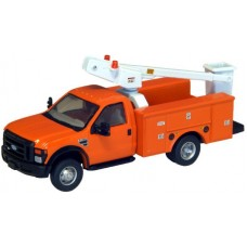 536-5726.09 - River Point Station Ford F-450 XL Short Cab Service/Utility Bucket Truck - DRW HD - Orange