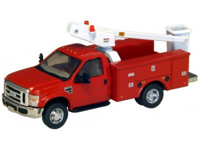 536-5726.10 - River Point Station Ford F-450 XL Short Cab Service/Utility Bucket Truck - DRW HD - Red