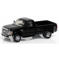536-5755.07x - River Point Station Ford F-350 XLT HD Regular Cab Dually - Black (Open Package)