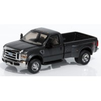 536-5755.27x - River Point Station Ford  F-350 XLT HD Regular Cab Dually - Pewter (Dark Shadow Grey) Open Package