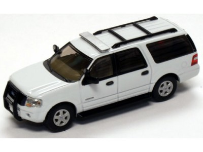 536-7607.01 - River Point Station 2007 Ford Expedition EL SSP - White