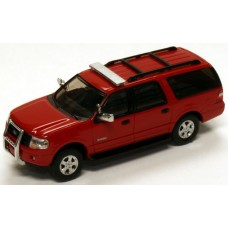 536-7607.10 - River Point Station 2007 Ford Expedition EL SSP - Red