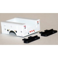 537-5252.29 - River Point Station Accessory Pack - Ford F Series Service Body & Bumpers Only - White, Black