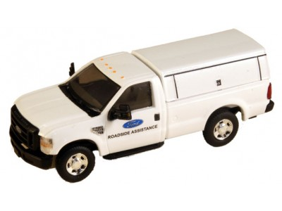 538-5097.72 - River Point Station Ford F-250 XLT Regular Cab - White, Ford Roadside Assistance w/Type 2 Cap