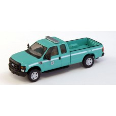 538-5257.07 - River Point Station Ford F-250 XLT Super Cab - Green, Forest Service