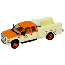 538-5321.S3 - HO Scale River Point Station Ford F-450 XL Extended Cab Fleet Service Truck DRW - United Transit Co.