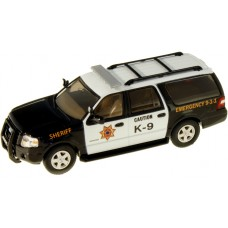 538-7607.77 - River Point Station 2007 Ford Expedition EL SSP - Sheriff K-9