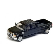 536-5555.07 - HO Scale River Point Station Ford F-350 XLT Sport  Crew Cab Dually - Black