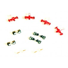 537-5250.11 River Point Station 1/87 (HO) Scale Spare Parts Accessory Pack